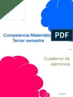 Competencia Matemática EJERCICIOS TERCER SEMESTRE