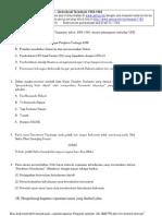 20 - Soal Sejarah Bab Demokrasi Terpimpin 1959-1966l