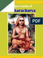 Select Works of Sri Sankaracharya With English Translation