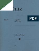 Albeniz España Op. 165 (Henle)