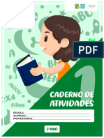 5 ANO - CADERNO DE ATIVIDADES 1