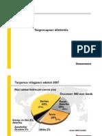 Anyagmozgatási beruházások 2008