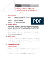 Syllabus Del Curso DGADT - 2020