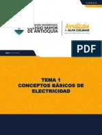 Tema 1 - Conceptos Básicos de Electricidad