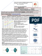 10º Guía Distribución de Los Electrones en El Átomo 2021