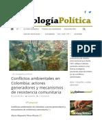conflictos ambientales en colombiaa