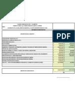 TABLA DE PESOS DE MATERIALES