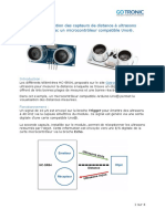 Capgeur Ultra Son Compatible-Arduino-2309
