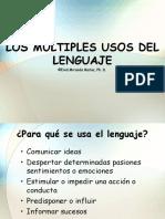 Usos y Funciones Del Lenguaje