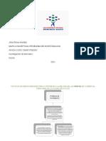 Mapa Conceptual Probloma de Investigacion. Jhoel Flores. Domingo Savio