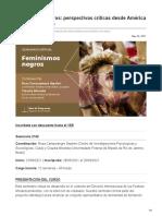 Clacso.org-Feminismos Negros Perspectivas Críticas Desde América Latina y El Caribe