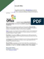 Definición de Microsoft Office