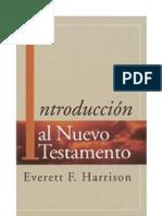 Introduccion al Nuevo Testamento - Everett F Harrison