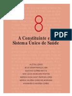 A Constituinte e o Sistema Único de Saúde