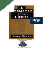 Libro La Formacion de Un Lider Joyce Meyer