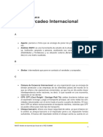 Glosario Mercadeo Internacional