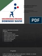 Universidad Privada Domingo Savio Expo