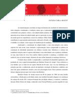 BELCHIOR GOMES DE ARAUJO E O INCONSCIENTE COLETIVO IGUATUENSE