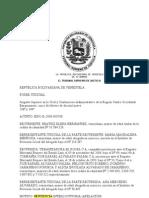 05-02-09 Trib.Sup.Contencioso Lara Procedimiento Sentencia Interlocutoria No decidida en la Definitiva
