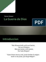 Dámian Márquez - La Guerra de Dios