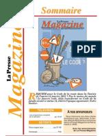 La Presse magazine code de la route