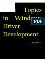 Core Topics in Windows Driver Development