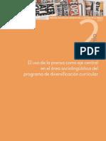El uso de la prensa como eje central del área sociolingüística del PDC