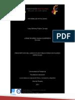 PRESCRIPCION  INFORMES DE 4 ENFERMEDADES