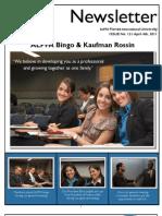 ALPFA Newsletter Spr2011 No. 12