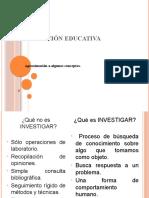 INVESTIGACIÓN EDUCATIVA