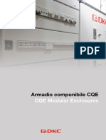 CQE Modular Enclosures - Floor standing - 2020