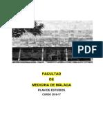 PLAN ESTUDIO Medicina UMA