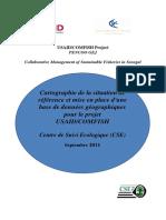 RAPPORT DE CARTOGRAPHIE