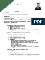 Curriculum _ ASSISTENTE ADMINISTRATIVO