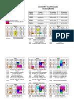 Calendário - Graduação Ead 2021