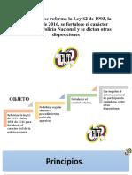 11 Proyecto de Ley Reforma Policial en Colom 2021, GAFP