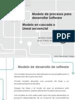 Modelo Lineal Secuencial