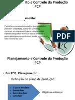 SISTEMAS DE PRODUÇÃO - pcp