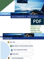 automobile presentation