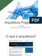 Arquitetura Pragmatica