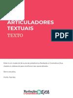 ARTICULADORES TEXTUAIS