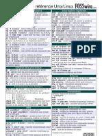 Commandes de référence Unix