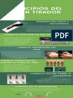 12. EXPONER INFOGRAFIA PRINCIPIOS DEL BUEN TIRADOR