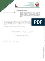 Projeto de Lei 133 2021