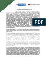 AUTORIZACIÓN DATOS PERSONALES ENCUESTA DE CARACTERIZACIÓN  2 (1)