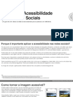 Manual de Acessibilidade Para Redes Sociais