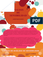 Diapositiva de análisis de sensibilidad