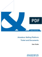 Amadeus Tickets and Documents