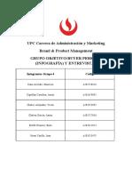 Grupo Objetivo y Entrevistas B&P (Gruupo 4)