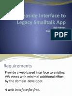 Seaside Interface to Legacy Smalltalk App